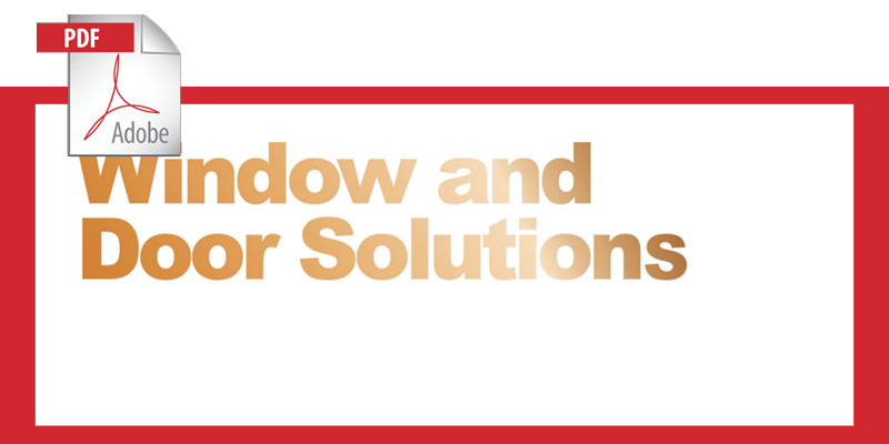 Window and Door Solutions
